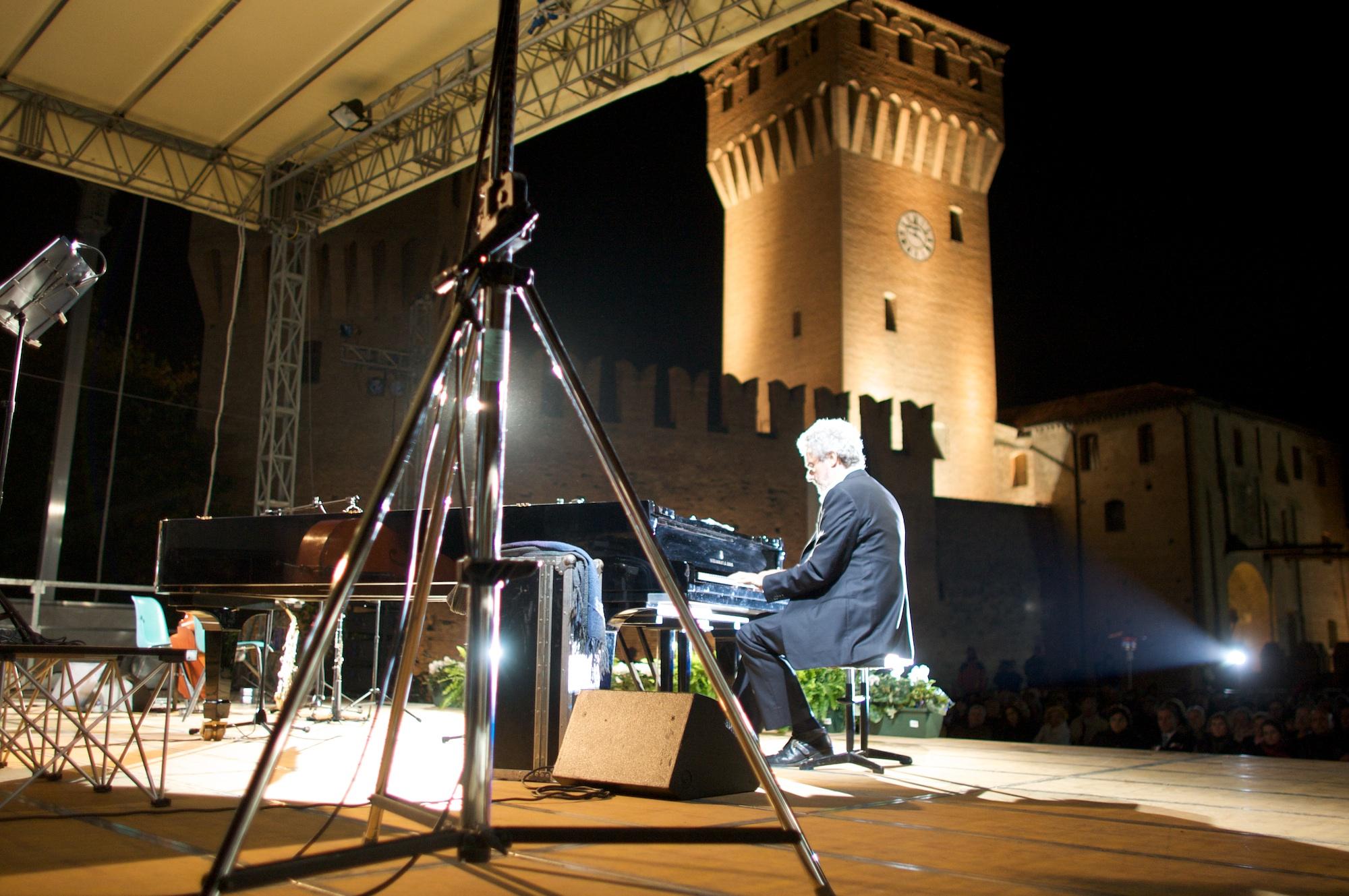 Nicola Piovani foto Luigi Ottani