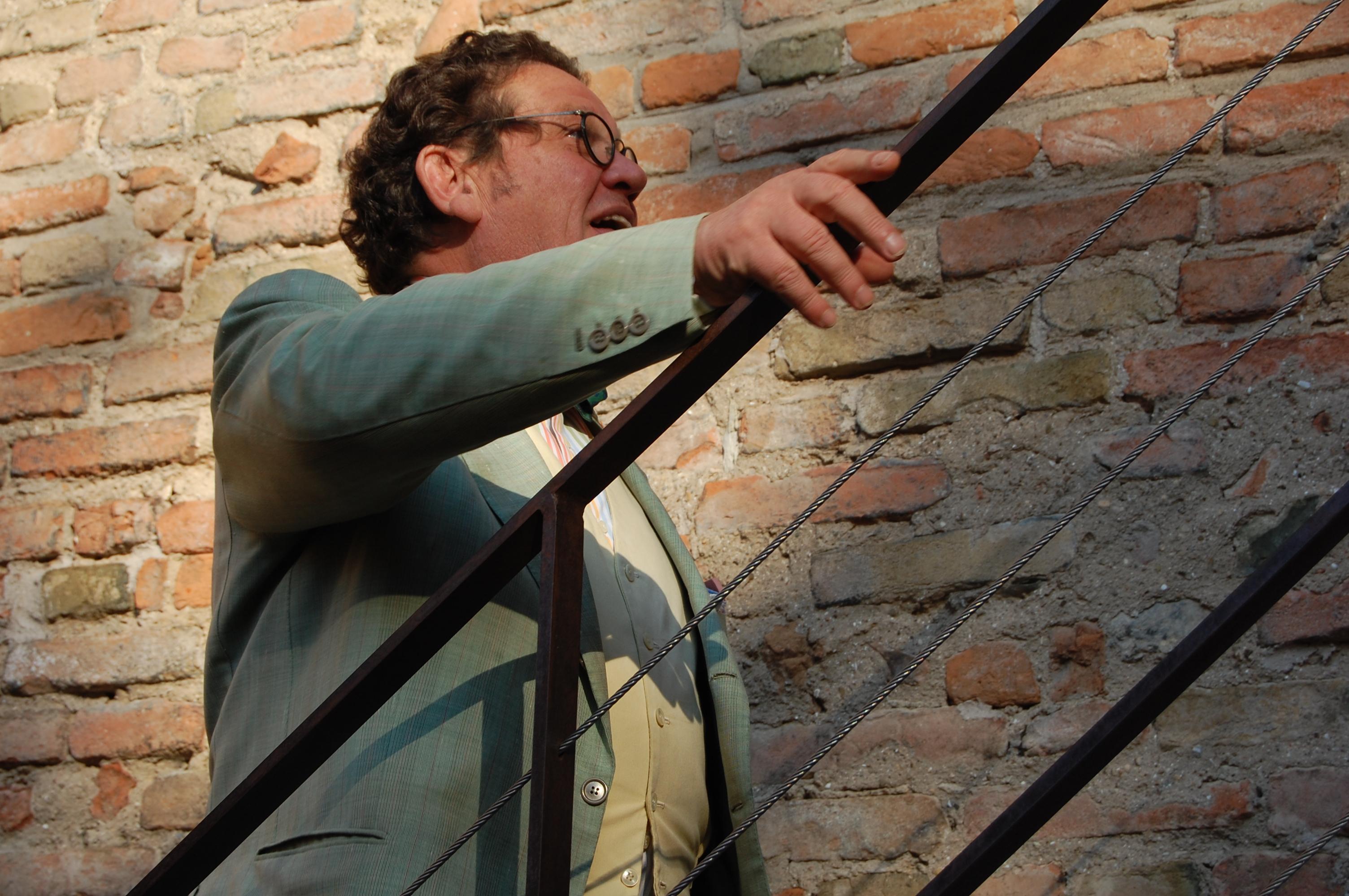 Philippe Daverio foto Luigi Ottani