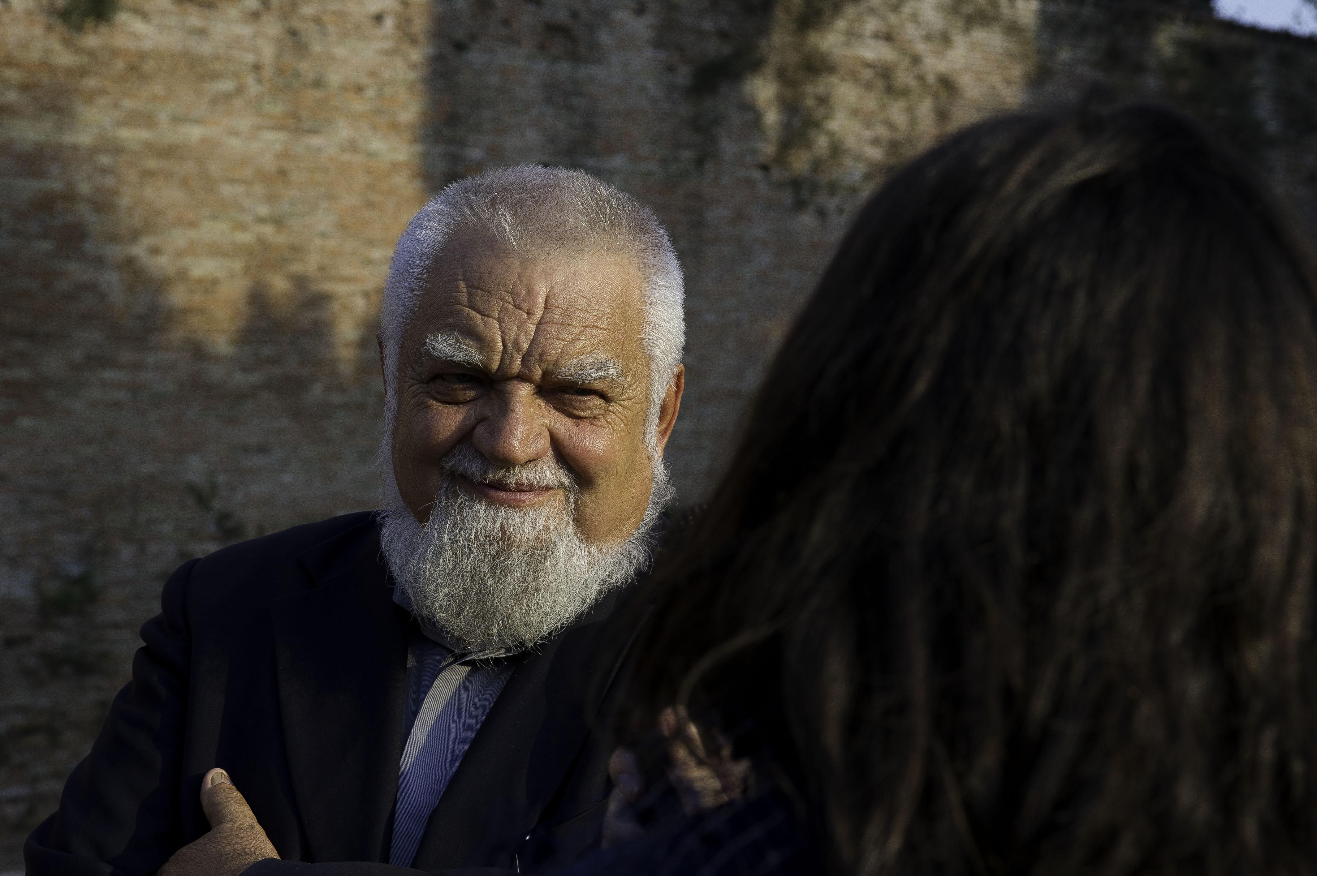 padre Enzo Bianchi foto Francesco Paliaga